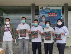 Dukung Penuntasan Covid- 19, MPPI Bagikan masker dan Hand Sanitizer kepada Nakes