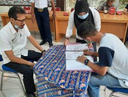 Dinas BMSDA dan Pelaksana Paket-Paket (DAK) Lakukan Penandatanganan Kontrak