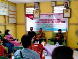 Musyawarah Desa Khusus Penerima BLT Dana Desa Melawi