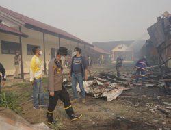 Akibat Karhutla 4 Bangunan SMKN 1 Sungai Raya Terbakar