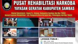 Rehab Pecandu Narkoba, Kini Sambas Miliki Yayasan Rehabilitasi