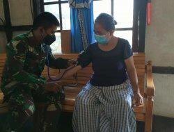 Usai Cek Kesehatan Warga, Dandim Sambas Puji Satgas TMMD Kodim 1201/Mempawah
