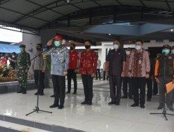Antisipasi Bencana Karhutla, Polres Melawi Gelar Apel di Pendopo