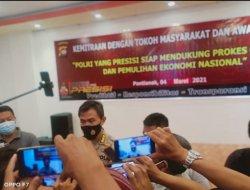 Bidhumas Polda Kalbar Jalin Kemitraan Dengan Tokoh Masyarakat dan Awak Media