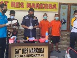 Sat Reserse Narkoba Polres Bengkayang Musnahkan 5,51 Gram Sabu
