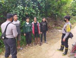 Polres Melawi Gencar Sosialisasi Tentang Bahaya Karhutla