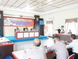 Sosialisasi dan Asistensi Penilaian Zona Integritas di Polres Sekadau