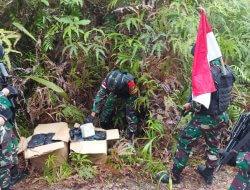 Satgas Yonif 642 Kapuas, Temukan 42 Kg Narkoba di Jalur Ilegal