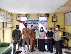 Serah Terima Jabatan Kades Labang Periode 2021-2027 di Melawi