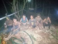 Lagi-lagi Polisi Amankan Pelaku PETI di Wilayah Sekadau