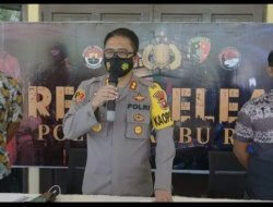 Polres Kubu Raya Gelar Press Release Pengungkapan Kasus Bulan Januari-Maret