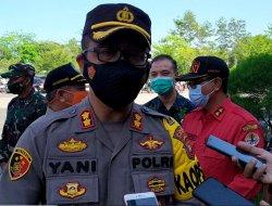 Kapolres Apresiasi Pengamanan Misa Perayaan Paskah di Wilayah Hukum Polres Kubu Raya Berjalan Kondusif
