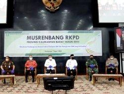 Pangdam XII/Tpr Hadiri Musrenbang RKPD Prov. Kalbar Tahun 2022