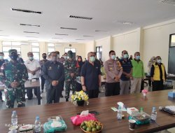 Kunjungan Kerja Sekjen Kemenkes RI ke Entikong
