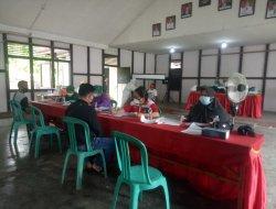 Anggota BPD Desa Kecamatan Mempawah Hulu Menjalani Tes Swab