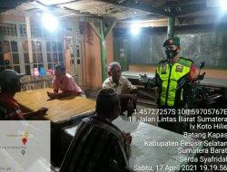 Babinsa Jajaran Kodim 0311 Pessel Terus Himbau Warga Binaan Selalu Patuhi Prokes