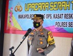 Empat Pejabat Polres Sekadau Rotasi Jabatan
