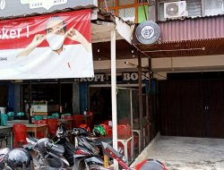 Razia Masker, Sat Pol PP Pontianak Tindak Salah Satu Pemilik Warkop di Jalan Ketapang