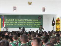 Pangdam XII/Tpr : Prajurit TNI Harus Siap Ditempat Tugaskan Dimana Saja