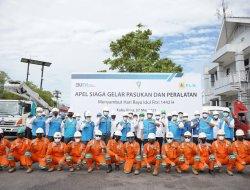 Tingkatkan Pasokan Listrik Jelang Lebaran, PLN Kalbar Gelar Apel Siaga