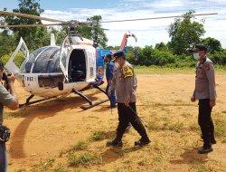Kapolda Kalbar Kunjungi Polsek Nanga Mahap, Sampaikan Arahan Berikut