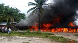 Kebakaran Hanguskan 4 Warung di Balai Sepuak, Pemilik Rugi Rp 100 Juta