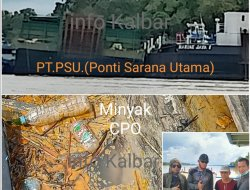 FW&LSM KALBAR Minta Gubernur Beri Sanksi PT. PSU Karena Cemari Sungai Kapuas
