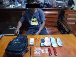 Pengedar Narkotika Jenis Sabu Diamankan Kepolisian Polsek Jagoi Babang