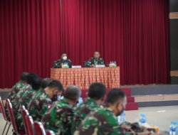 Brigjen TNI Rony Sambut Kedatangan Tim Pengawas Pos Audit Itjenad