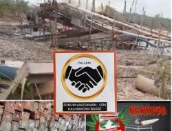 FW&LSM Kalbar Apresiasi Polres Melawi Ungkap Kasus Illegal Logging, Narkoba Hingga PETI