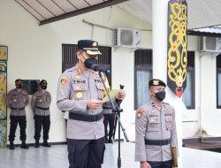20 Personel Polres Sekadau Jalani Upacara Korp Raport