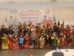 Bupati Muda Mahendrawan Melantik Pengurus Perkumpulan Merah Putih Kabupaten Kubu Raya