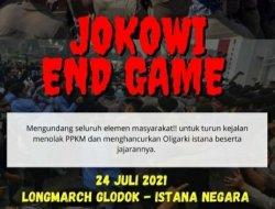 "Demo ""Jokowi End Game"" Tak Terjadi, Jakarta Kondusif"