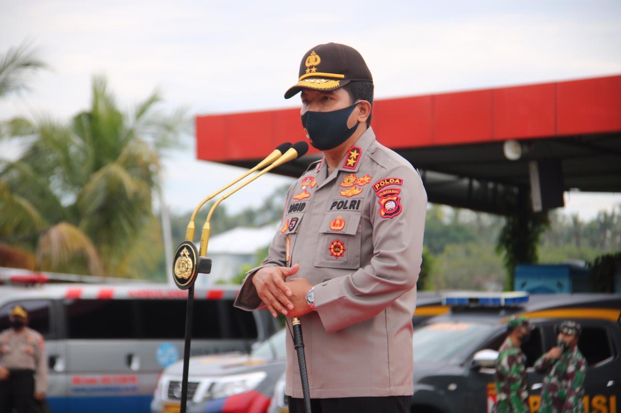 Kepala Kepolisian Daerah (Kapolda) Kalbar, Irjen Pol Sigid Tri Hardjanto.