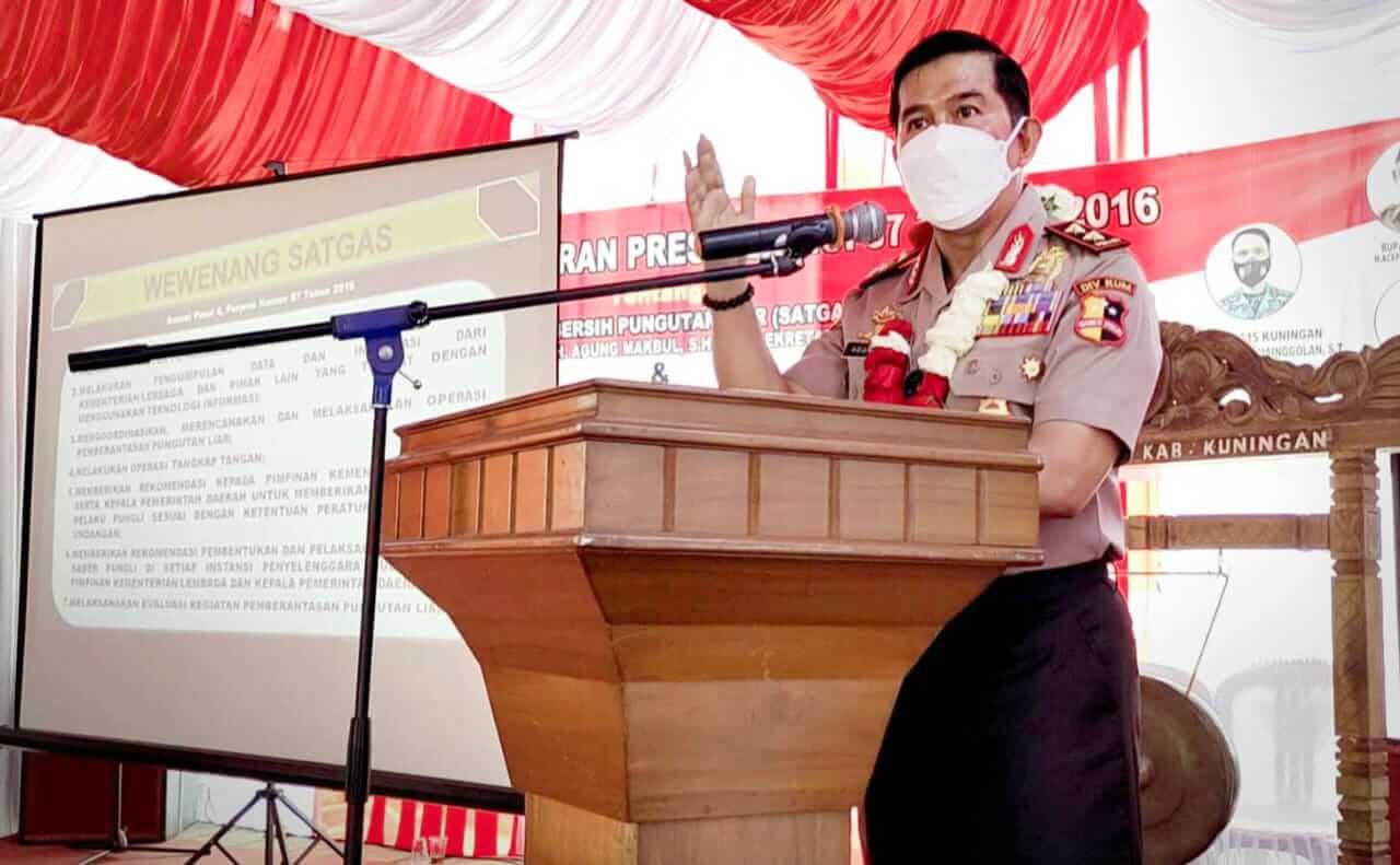 Sekretaris Satgas Pusat Saber Pungli, Irjen Pol Dr. H. Agung Makbul, SH, MH,