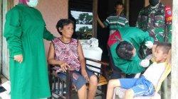 Antisipasi Meluasnya Penyebaran Covid, Babinsa Toho dan Tim Tracer Laksanakan Tracing Warga Kontak Erat