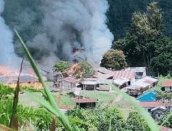 KKB Hancurkan Puskesmas, Gubernur: Masyarakat Diminta Tenang