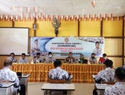 Kapolsek Nanga Mahap Hadiri Konferensi Kerja Cabang PGRI