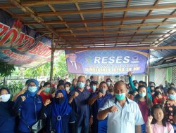 Reses Ketiga Legislator Nasdem Singkawang, Sumberanto: Tak Pernah Berhenti Berjuang Demi Rakyat